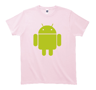 Android Robot Tシャツ